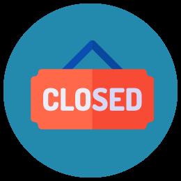 Pool Closed!